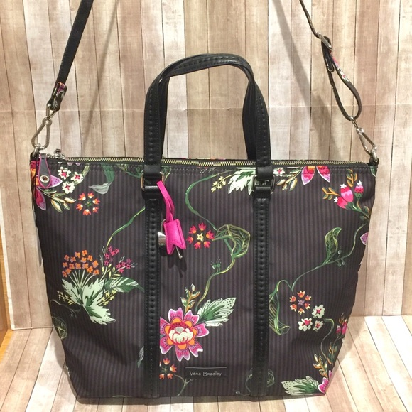 67a7a5c55 Vera Bradley Bags | Airy Floral Midtown Small Tote Nwt | Poshmark